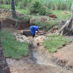 The Water Project: Mahira Community, Mukalama Spring -  Grass Planting