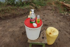 The Water Project:  A Handwashing Point With Soap And Water