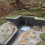 The Water Project: Mahira Community, Mukalama Spring -  Complete Spring With Water Flowing