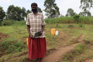 The Water Project:  Margaret Mwanje