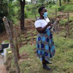 The Water Project: Mahira Community, Mukalama Spring -  Mask Making Practical Session
