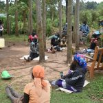 The Water Project: Mukhungula Community, Mulongo Spring -  Demonstration On Leaky Tin And Tippy Tap Fabrication