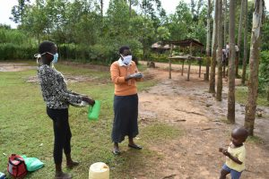 The Water Project:  Trainer Rose Shows Ten Steps Of Handwashing