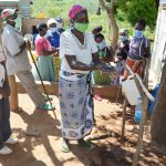 The Water Project: King'ethesyoni Community A -  Handwashing Demonstration