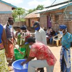 The Water Project: King'ethesyoni Community A -  Soap Making