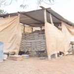 The Water Project: King'ethesyoni Community A -  Cement Bags