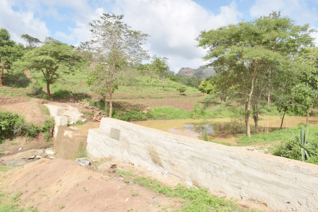 The Water Project : kenya20310-complete-dam-2