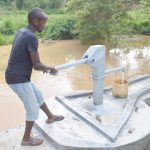 The Water Project: King'ethesyoni Community A -  Pumping The Well