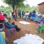 The Water Project: Yumbani Community A -  Community Members At The Training