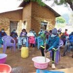 The Water Project: Yumbani Community A -  Mixing Soap