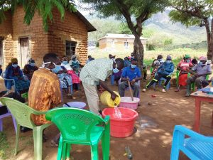 The Water Project:  Soap Making Training