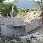 The Water Project: Yumbani Community -  Dam Nears Completion