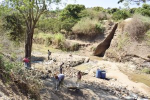 The Water Project:  Prepping Dam Site