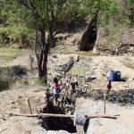 The Water Project: Yumbani Community -  Trenching