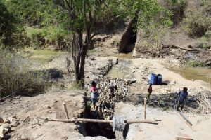 The Water Project:  Trenching