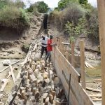 The Water Project: Yumbani Community -  View Of The Walls Under Construction
