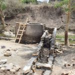 The Water Project: Yumbani Community A -  Beginning Work On The Stairs