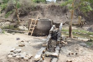 The Water Project:  Beginning Work On The Stairs