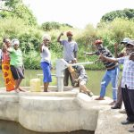 Yumbani Community well complete!