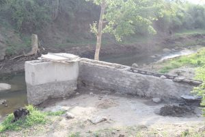 The Water Project:  Pathway To Well Under Construction