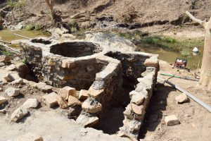 The Water Project:  Well And Stairs Making Progress