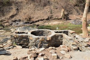The Water Project:  Well Walls Built Up