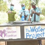 The Water Project: Mutwaathi Secondary School -  Clean Hands
