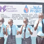 The Water Project: - Mutwaathi Secondary School