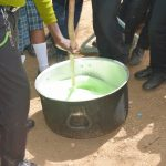 The Water Project: Mutwaathi Secondary School -  Mixing Soap