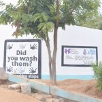 The Water Project: Mutwaathi Secondary School -  Painted Tank