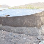 The Water Project: Mutwaathi Secondary School -  Plastering The Well Wall