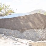 The Water Project: Mutwaathi Secondary School -  Tank Nears Completion
