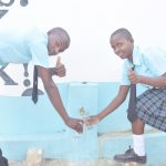 The Water Project: Mutwaathi Secondary School -  Thumbs Up