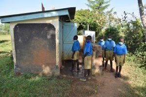 The Water Project:  Boys Older Latrine Block