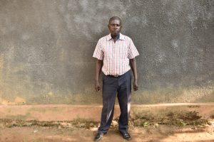 The Water Project:  Headteacher Austine Oduor