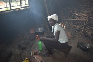 The Water Project:  Josephine At Work Cooking For School