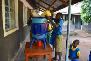 The Water Project:  Many Jerrycans To Fill One Filter