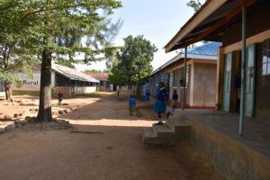 The Water Project:  Outside School Buildings
