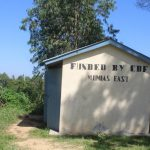 The Water Project: Emachina Primary School -  Girls Latrines