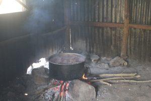 The Water Project:  Cooking Inside The Kitchen