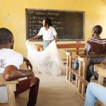The Water Project: Sulaiman Memorial Academy Jr. Secondary School -  Mosquito Net Use To Fight Malaria Session