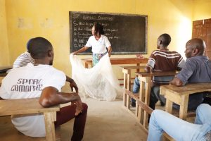 The Water Project:  Mosquito Net Use To Fight Malaria Session