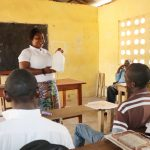 The Water Project: Sulaiman Memorial Academy Jr. Secondary School -  Explaining Tippy Tap Use And Importance