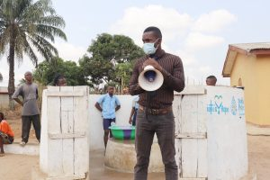 The Water Project:  Osman Fofanah Of Ministry Of Water Resources Making Statement