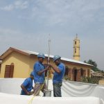 The Water Project: Sulaiman Memorial Academy Jr. Secondary School -  Pump Installation