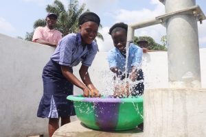 The Water Project:  Celebrating And Splashing Water