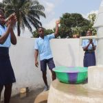 The Water Project: Sulaiman Memorial Academy Jr. Secondary School -  Students And Community Members Celebrating