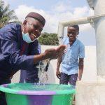 The Water Project: Sulaiman Memorial Academy Jr. Secondary School -  Kamasondo Chiefdom Schools Supervisor Celebrates