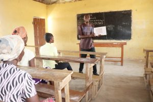 The Water Project:  Teaching Latrine Use And Importance
