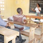 The Water Project: Sulaiman Memorial Academy Jr. Secondary School -  Hygiene Facilitator Teaching About Balanced Diets